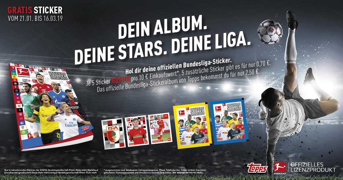 Die große Bundesliga-Aktion bei Marktkauf